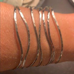 Esbe silver cuff bracelet